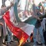 Indian-Flag-Burning