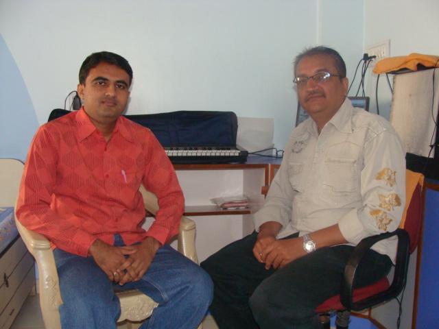 Dr. Utpal Jivrajani with Devang Vibhakar