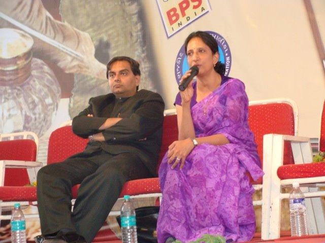 Jay Vasavada with Kazal Oza