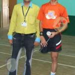 Devang Vibhakar with Girish Sharma
