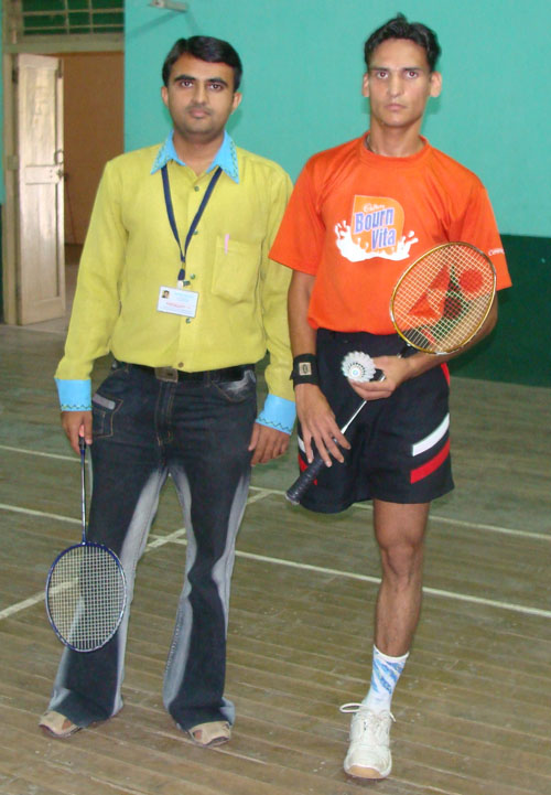 Devang Vibhakar with Girish Sharma