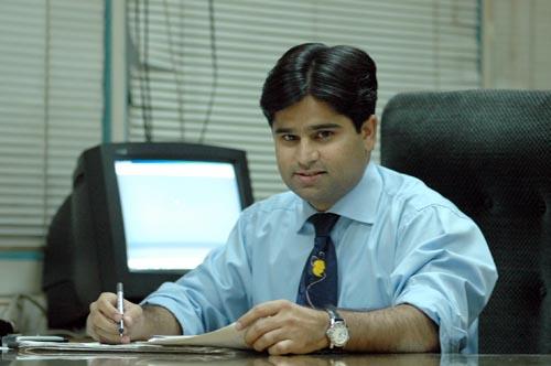 Kamram Rehmat at work