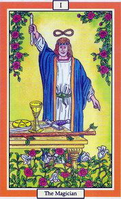 The Magician Tarot Card