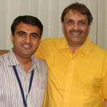 Devang Vibhakar with Ashok Dave