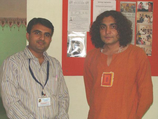 Devang Vibhakar with Santosh Kumar