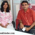 Devang Vibhakar with RJ Deval