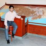 Kamran at a Museum in Muscat
