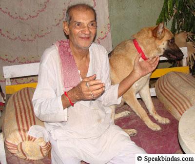 Ramesh Mehta with Julie