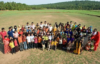 Indian village with 250 sets of twins
