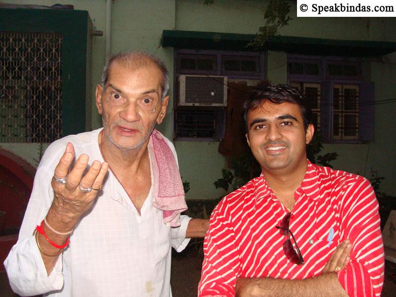 Devang Vibhakar with Ramesh Mehta