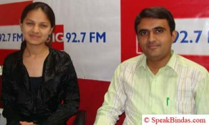 Devang with BIG RJ Chandani