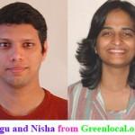 Ragu and Nisha Greenlocal
