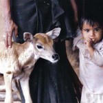 Motherly love to both innocents.