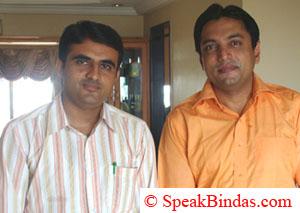 Mr. Deepak Agrawal in yellow shirt