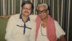Harish Raghuvanshi with Anil Biswas