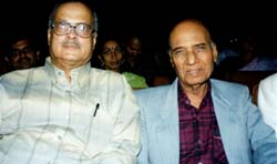 Harish Raghuvanshi with Khayyam