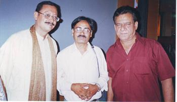 With Guru Dutt's son Arun Dutt