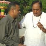 Biren Kothari with Upendra Trivedi