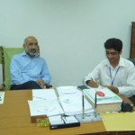 Dr. Saqib Riza with Speakbindas Correspondent Zahid Gishkori