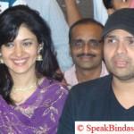 Himesh Reshmiya with Sonal Sehgal