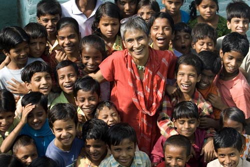 For Life Less Ordinary, Asian edition. Anouradha Bakshi, 51, a South Delhi resident with a heart of gold, has rescued 600 slum children from the inevitable fate of being a part of the uneducated millions in India.