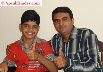 Jay Chhaniyara with Devang Vibhakar