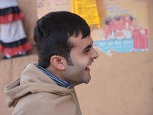 Vikas Rajpopat with a true laugh