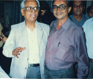 Yasin Dalal with Anil Biswas