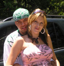 Kristi Lee with boyfriend