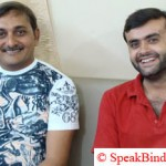 Vikas Rajpopat with Kamlesh Bhatt