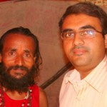 Devang Vibhakar, Editor of SpeakBindas.com with Vasant Maharaj