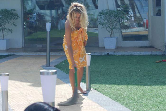 Pamela Anderson in Bigg Boss 4