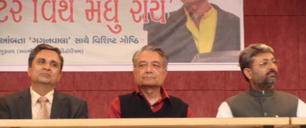 (L to R: Dinesh Brahmbhatt, Madhu-Rye, Nalin-Zaveri)