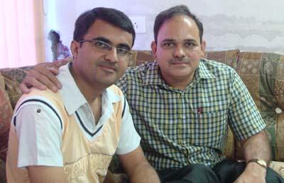 (L to R: Devang Vibhakar, Suresh Lalan)
