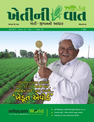 Front title of Magazine 'Kheti ni Vat'