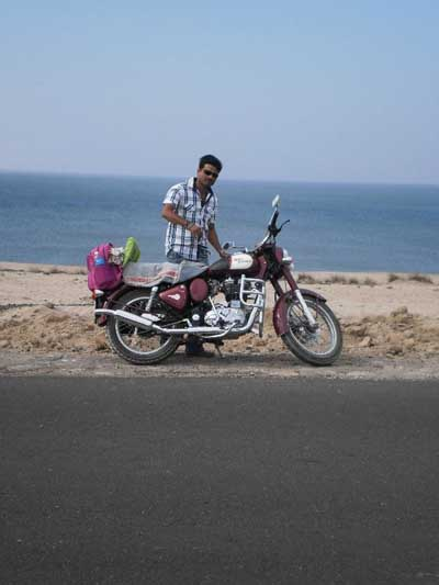 The Rider with His Bike