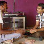 Devang Vibhakar with Jitubhai
