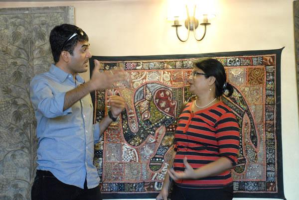 Gaurangi Patel in conversation with Chirayu Patel