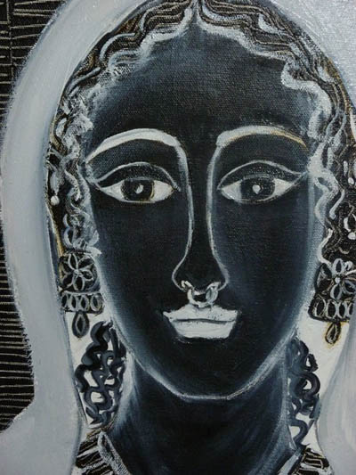 A painting by Pinky Bhatt