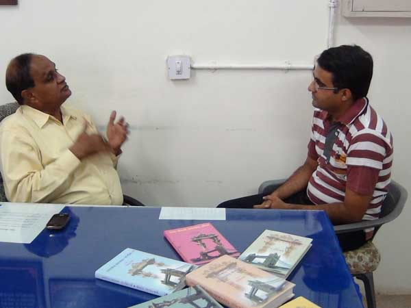 Dr. Balvant Jani in conversation with Devang Vibhakar