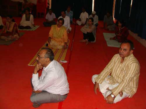 Participants @workshop on Past Life Regression at Rajkot