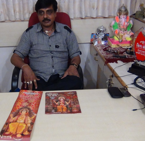 Jimmy Advani in his office