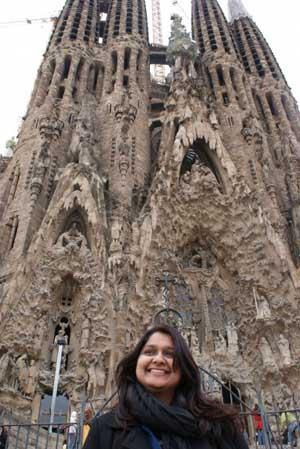 @Barcelona Sagrada Familia