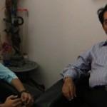 (L to R: JC Rina Solanki, Bharat Dudakia)