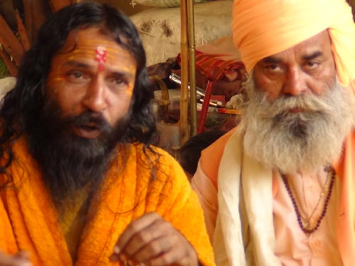 Indra Bharthi Bapu at Juna Akhada Ashram in Girnar Taleti