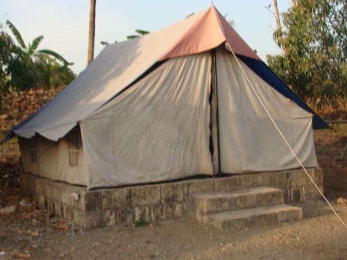 Tent at Lion Rora Farm, Bhojde, Sasan Gir
