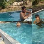 Swimming Pool at Lion Rora Farm, Bhojde, Sasan Gir