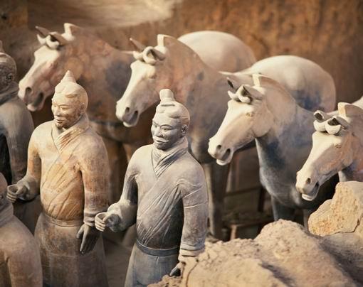 Army of Terra cotta Warriors | SpeakBindas - Articles ...  Army of Terra c...