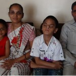 From left to right: Uttam's younger brother, Uttam's mother, Uttam, Uttam's grandfatherFrom left to right: Uttam's younger brother, Uttam's mother, Uttam, Uttam's grandfather