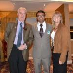 L to R: Howard Gibb, Devang Vibhakar, Karen Gibb